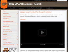 Tablet Preview of adminsearch.okstate.edu